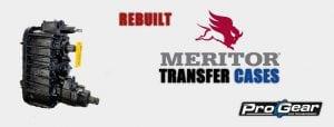rebuilt Meritor transfer case