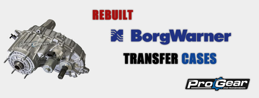 إعادة بناء حالة نقل BorgWarner