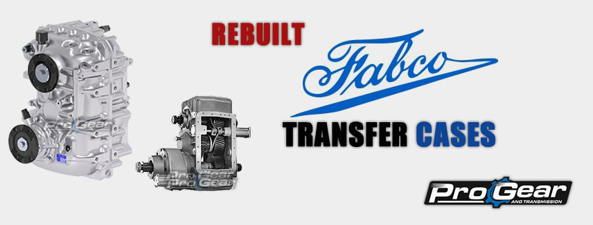 Rebuilt Fabco Transfer Cases