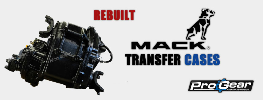 Rebuilt Mack Transfer Cases