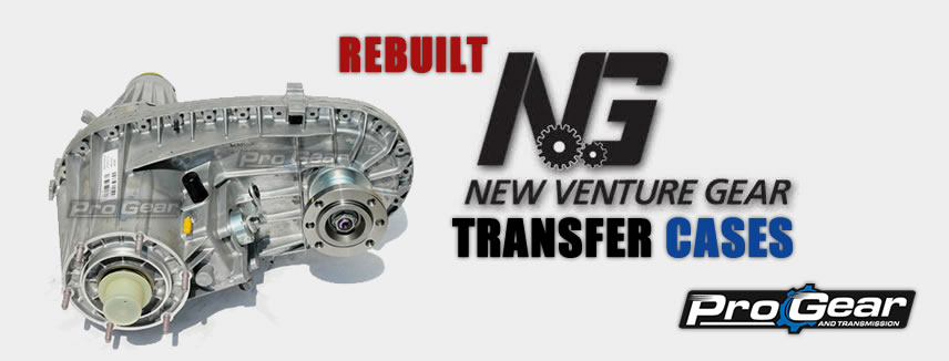 Rebuilt New Venture Gear Transfer Cases