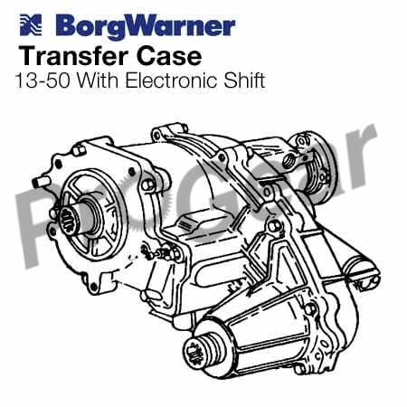 rebuilt Borg Warner Transfer Case
