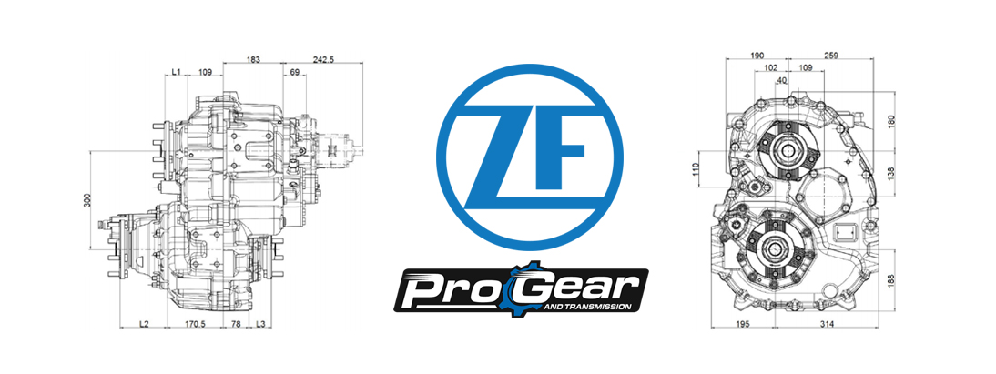 Rebuilt ZF Transfer Case, Replacement Parts & Rebuild Kits